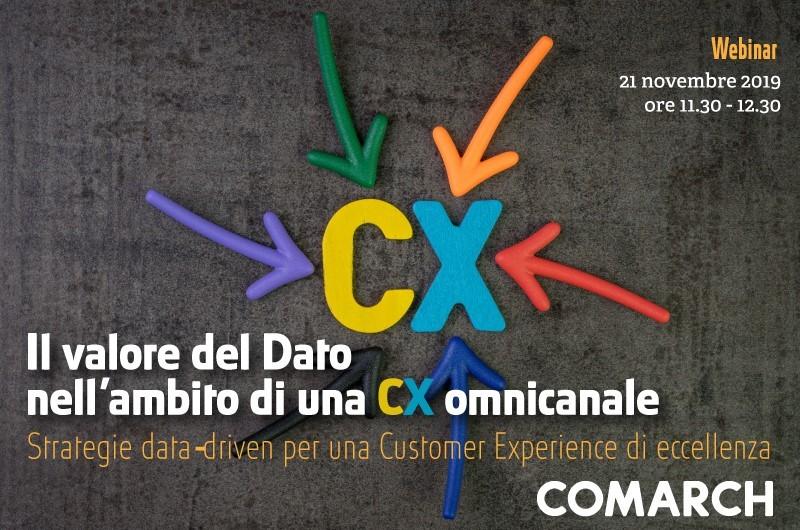 CX, comarch, tig webinar